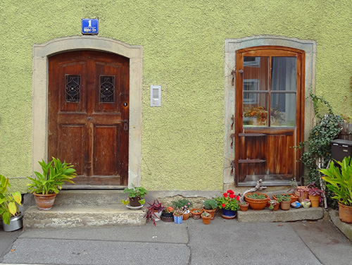 Passau house doors