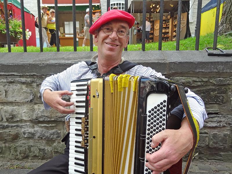 a street musician