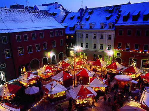 Christ market in Regensburg, Germany / photo: Bayern Tourismus Marketing GMBH
