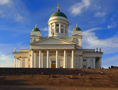 Helsinki Cathedral on Senate Square