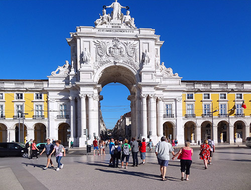 The Praça do Comércio, Lisbon