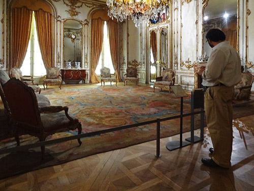 Exhibit in the Museu Nacional de Arte Antiga in Lisbon