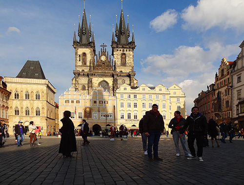 Prague's Old Town Square in Prague