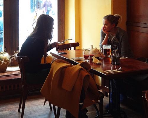 Cafe in Old Prague
