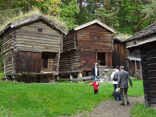 The Norsk Folkemuseum in Oslo