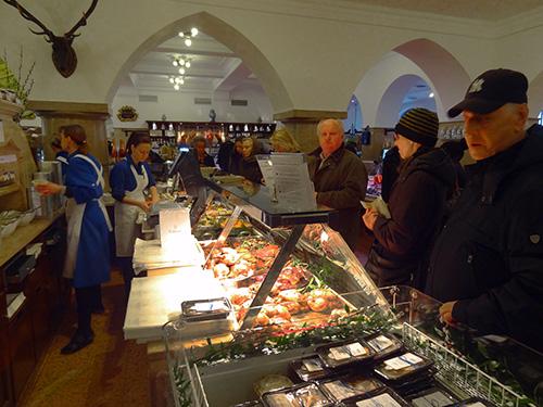 Dallmayr, Munich in European Food Halls