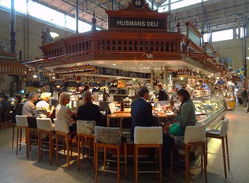 Östermalm Food Hall, Stockholm in European Food Halls