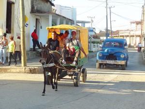 A street in Baracoa, Eastern Cuba