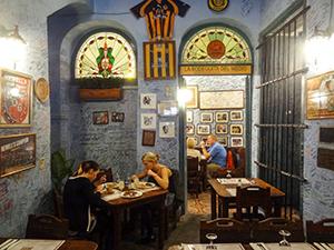 a restaurant in Havana