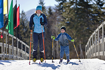 Cross Country skiing at Mt. Van Hoevenberg / photo: Lake Placid CVB - Dave Schmidt-8134830170_7ebb562d9d_k