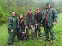 The truffle hunters outside Bologna - Truffle Hunting in Italy