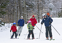 Skiing at Whiteface Mt. in New York / photo: Lake Placid CVB