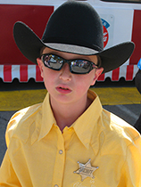 Michael at the Calgary Stampede