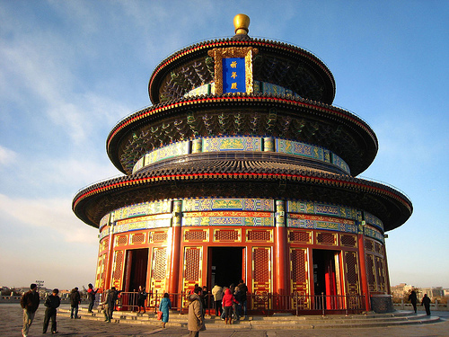 Temple of Heaven in Beijing / photo: Cucas