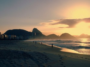 Copacabana Beach in Rio / photo: Rafael Santos / Flickr