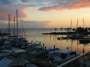 Bannister Hotel marina in Samana Dominican Republic / photo: Carla Marie Rupp