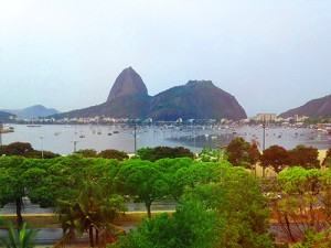 View from the dentists chair in Rio / photo: Donna Manz