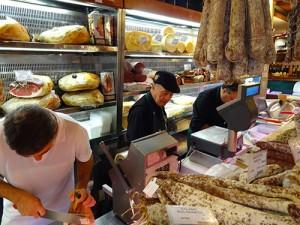 Tamburini on Via Caprarie in Bologna