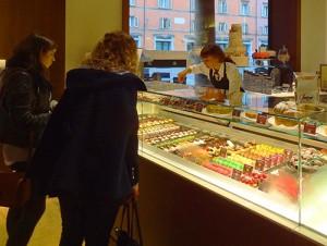 Shopping at Zanarina in Bologna