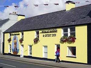 Main Street, Bushmills in Ireland