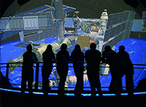 Sci-Port Discovery Center's Planetarium in Shreveport / photo: Shreveport Bossier Tourist Bureau