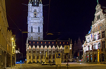 Sint Baafsplein in Ghent / photo: Ed Webster Flickr