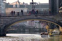 St. Michaels Bridge in Ghent / photo: OliBac Flickr