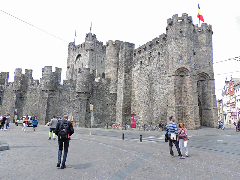 The Castle of the Counts in Ghent