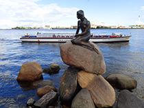 The Little Mermaid in Copenhagen