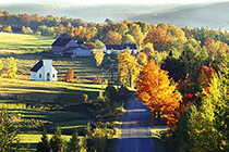Eastern Townships in Quebec / photo: Eastern Townships