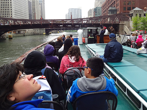 A Chicago Architectural Foundation river cruise