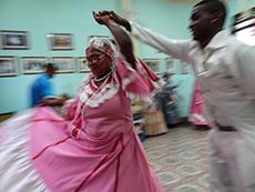Tumba Francesa performance in Cuba