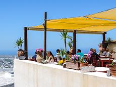 Kasteli Bar & Restuarant, Pyrgos in Santorini