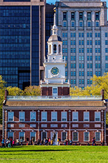 Independence Hall, one of the UNESCO sites in the USA / photo: J. Fusco/Visit Philadelphia