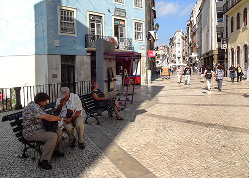 An afternoon in Coimbra, Portugal