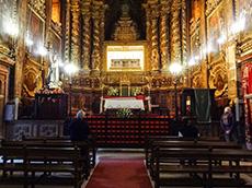 Church in the Convent of Santa Clara in Coimbra