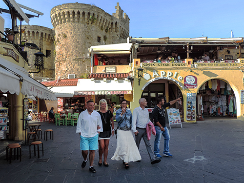 The Old Town, Rhodes