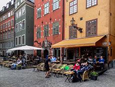 Gamla Stan café in Stockholm