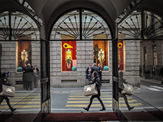 """The """"Fashion Quadrilateral"""" in Milan"""