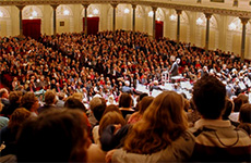people at a concert at the Concertgebouw, Amsterdam, one of the Top Free Things To Do in Europe