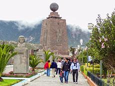 La Mitad del Mundo, the equador, Ecuador