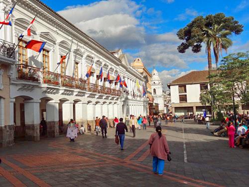 La Plaza Grande, Quito, Ecuador