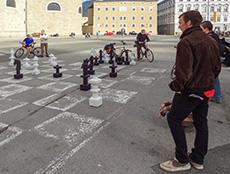 Chess, Kapitelplatz, Salzburg, one of the Top Free Things To Do in Europe
