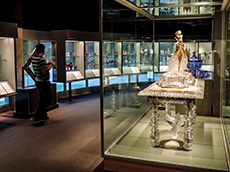 exhibit in the Corning Glass Museum among my memorable travel experiences
