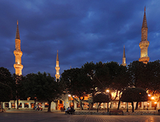 The Blue Mosque, Istanbul at twilight