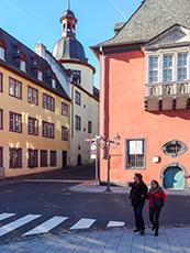 buildings in Koblenz a German river towns
