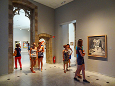The Museo Picasso in Barcelona/ photo: Jim Ferri