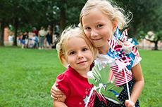 July 4 celebration / photo: Old Salem Museums & Gardens