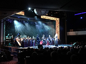 A concert in the Royal Court Theatre