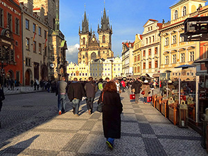 old medieval European buildings